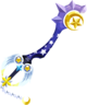 The Star Seeker Keyblade as seen in the 1st Anniversary event of Kingdom Hearts χ, ripped from the game.