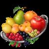 The fruit ingredient sprite