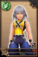 Riku card (card 29) from Kingdom Hearts χ
