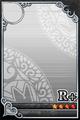 an empty R+ Upright card