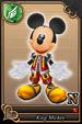 King Mickey card (card 81) from Kingdom Hearts χ
