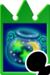 Sprite of the Hi-Potion card from Kingdom Hearts Re:Chain of Memories.