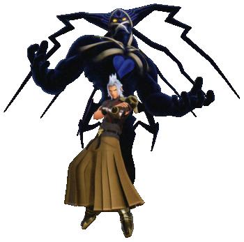Terra-Xehanort (with Dark Figure)