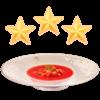 The Cold Tomato Soup+ dish sprite