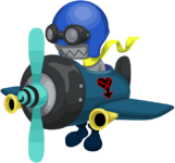 the Aeroplane from 11-2 Daybreak Town story mission
