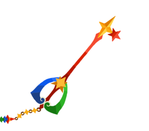 The yet to be released Fairy Stars (base version) Keyblade.