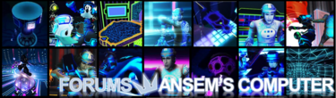 Forumheader for the newly established section of the forum, Ansem's Computer.