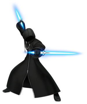 Render of Unknown (The Mysterious Figure) from the Famitsu magazine.
