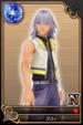 Riku card (card 41) from Kingdom Hearts χ