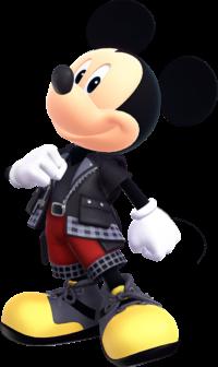 King Mickey, as he appears in Kingdom Hearts III