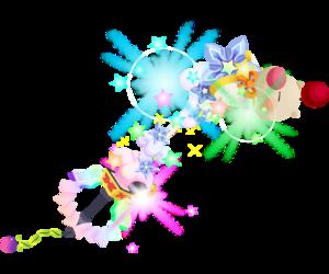 "The final (?) upgrade Moogle of Glory<span style=""font-weight: normal"">&#32;(<span class=""t_nihongo_kanji"" style=""white-space:nowrap"" lang=""ja"" xml:lang=""ja"">モーグリオブグローリー</span><span class=""t_nihongo_comma"" style=""display:none"">,</span>&#32;<i>Mōguri obu gurōrī</i><span class=""t_nihongo_help noprint""><sup><span class=""t_nihongo_icon"" style=""color: #00e; font: bold 80% sans-serif; text-decoration: none; padding: 0 .1em;"">?</span></sup></span>)</span> Keyblade"