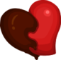 """The Chocolate Heart<span style=""""font-weight: normal"""">&#32;(<span class=""""t_nihongo_kanji"""" style=""""white-space:nowrap"""" lang=""""ja"""" xml:lang=""""ja"""">チョコレートハート</span><span class=""""t_nihongo_comma"""" style=""""display:none"""">,</span>&#32;<i>Chokorēto hāto</i><span class=""""t_nihongo_help noprint""""><sup><span class=""""t_nihongo_icon"""" style=""""color: #00e; font: bold 80% sans-serif; text-decoration: none; padding: 0 .1em;"""">?</span></sup></span>)</span> of the 2015 Valentine's Day event."""