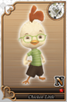 Chicken Little card (card 223) from Kingdom Hearts χ