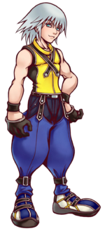 Riku in Kingdom Hearts