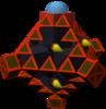 The Omega C Gummi Ship enemy model