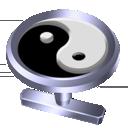 Yin-Yang Cufflink