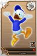 Dewey card (card 204) from Kingdom Hearts χ