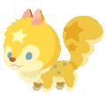 Yellow Squirrelstar (Spirit) KHUX.png