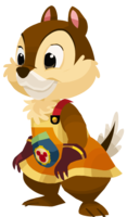 Chip as seen in the 1st Anniversary event of Kingdom Hearts χ, ripped from the game.