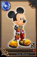 King Mickey card (card 82) from Kingdom Hearts χ