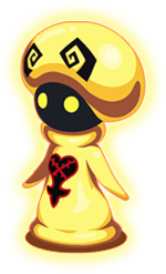 """The Gold Tricholoma<span style=""""font-weight: normal"""">&#32;(<span class=""""t_nihongo_kanji"""" style=""""white-space:nowrap"""" lang=""""ja"""" xml:lang=""""ja"""">ゴールドトリコローマ</span><span class=""""t_nihongo_comma"""" style=""""display:none"""">,</span>&#32;<i>Gōrudo Torikorōma</i><span class=""""t_nihongo_help noprint""""><sup><span class=""""t_nihongo_icon"""" style=""""color: #00e; font: bold 80% sans-serif; text-decoration: none; padding: 0 .1em;"""">?</span></sup></span>)</span> from the 1st Anniversary countdown event"""