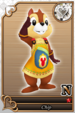 Chip card (card 192) from Kingdom Hearts χ