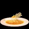 The Crêpes Suzette dish sprite