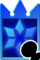 Sprite of the Blizzard card from Kingdom Hearts Re:Chain of Memories.