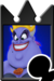 Sprite of the Ursula card from Kingdom Hearts Re:Chain of Memories.
