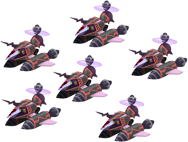 "The Black Gummi Squad<span style=""font-weight: normal"">&#32;(<span class=""t_nihongo_kanji"" style=""white-space:nowrap"" lang=""ja"" xml:lang=""ja"">ブラックグミスクワッド</span><span class=""t_nihongo_comma"" style=""display:none"">,</span>&#32;<i>Burakku Gumi Sukuwaddo</i><span class=""t_nihongo_help noprint""><sup><span class=""t_nihongo_icon"" style=""color: #00e; font: bold 80% sans-serif; text-decoration: none; padding: 0 .1em;"">?</span></sup></span>)</span> Heartless"
