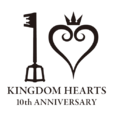 Kingdom Hearts 10th Anniversary Logo.png