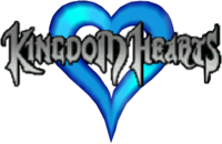The Logo of Kingdom Hearts for the V Cast