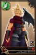 Cloud card (card 114) from Kingdom Hearts χ