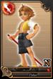 Tidus card (card 144) from Kingdom Hearts χ
