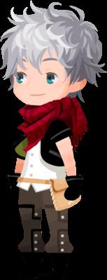 An image of Ephemer as seen in Kingdom Hearts χ