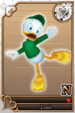 Louie card (card 205) from Kingdom Hearts χ